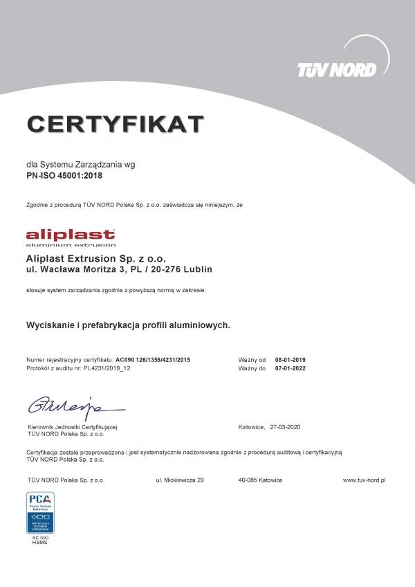Certyfikat-TUV-PN-ISO-45001-2018