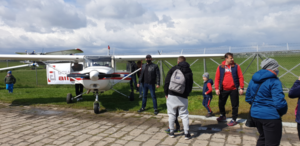 Sobota z samolotem